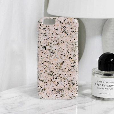 MARBLE CASE - PINK MARBLE