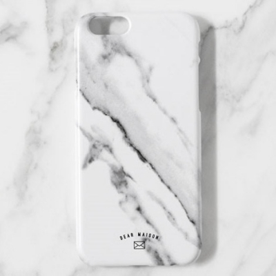 MARBLE CASE - WHITE MARBLE