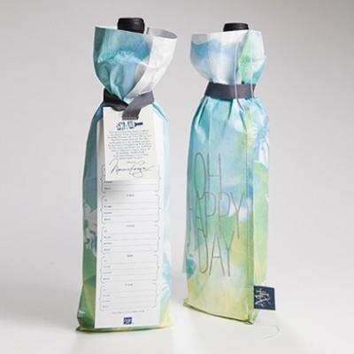 Happy Day Reusable Wine Bag