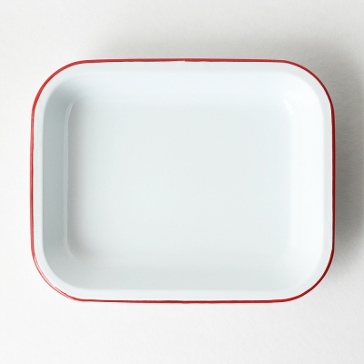 oven tray - red
