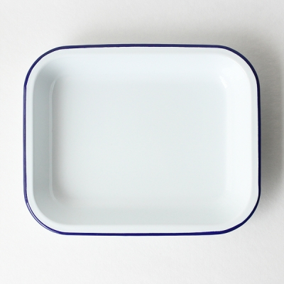 oven tray - blue