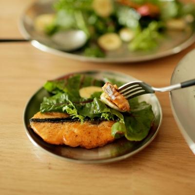 심플 스테인레스 접시 (5 size) 깨지지 않는 위생적 플레이트