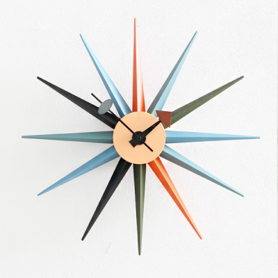 북유럽 썬버스트시계(멀티)