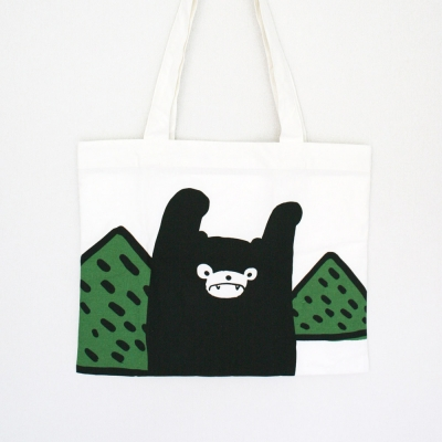Hidden forest - cotton bag