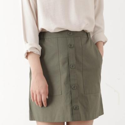 side banding pocket skirt