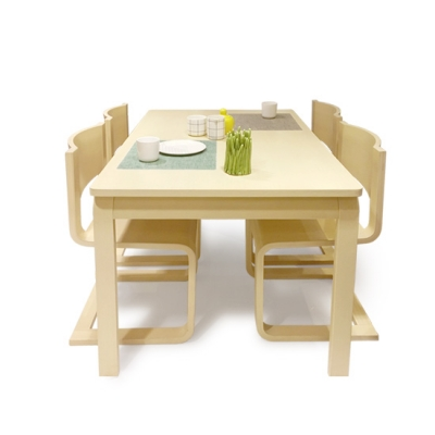 [스크래치]QM 스칸딕디자인 NC6 4인 식탁세트