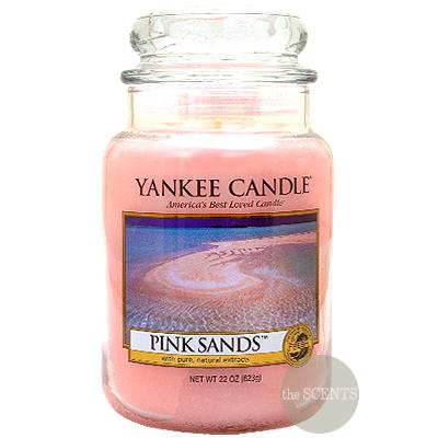 [양키캔들] 자 캔들 라지 - 핑크 샌드