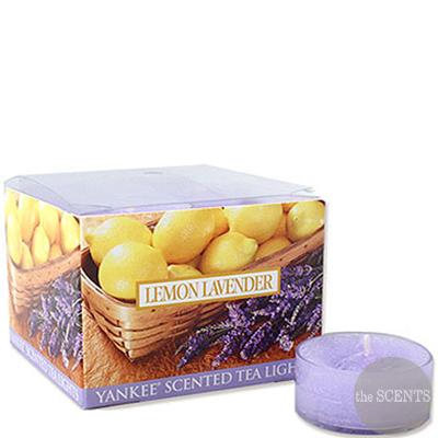 [양키캔들] 티라이트 - 레몬 라벤더