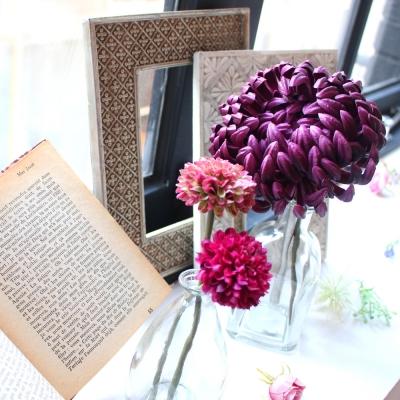 국화 꽃펜 - chrysanthemum flower pen
