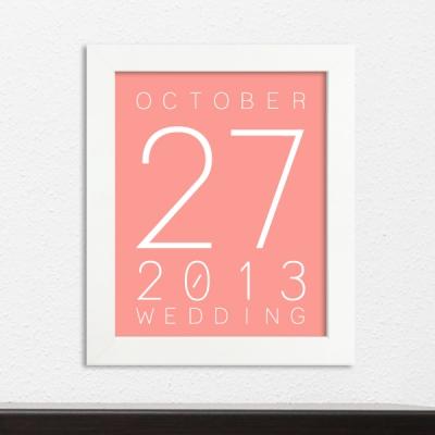 결혼기념일 액자