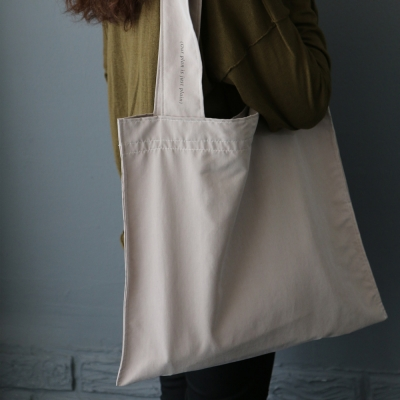 plain bag _beige
