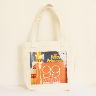 비닐 에코백 Canvas vinyl bag