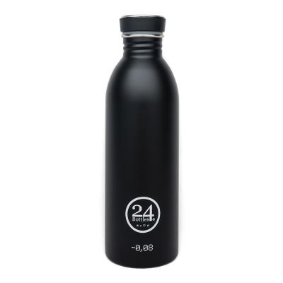 초경량 스테인리스 물병 24Bottles_Urban Bottle(Black/500ml)