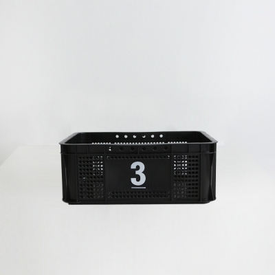 ( NO 3 ) Multi Black Basket