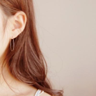 [하우즈쉬나우] just pure silver earrings (92.5% ALL SILVER)