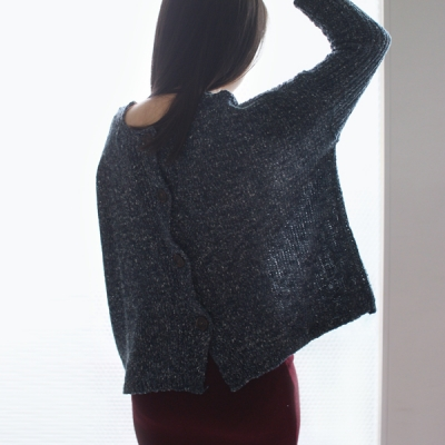 back button knit