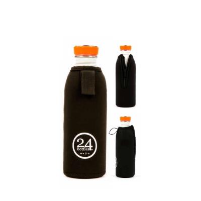 24Bottles_Urban Bottle Cover(Black/500ml) 스테인리스 물병 커버