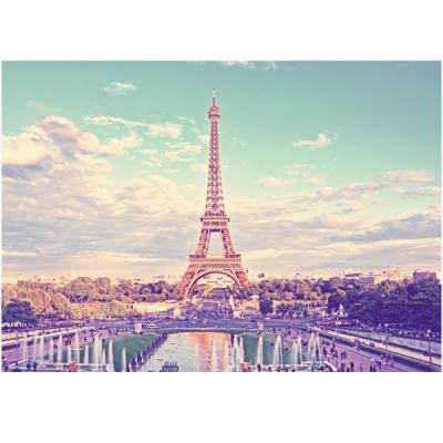블루 에펠탑 - 폼보드 감성사진 액자