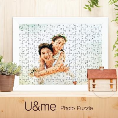 [150pcs]  U&me 맞춤형 포토퍼즐(액자포함)