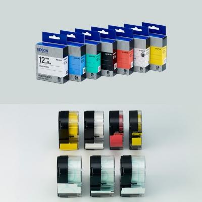 정품 엡손 펄 라벨테이프 18mm (컬러선택)