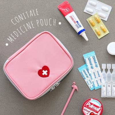코니테일 삐뽀삐뽀 파우치 S - 핑크 (비상약 약파우치)