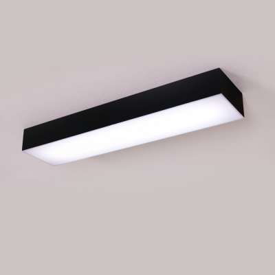 LED 크림 블랙 주방등 25w