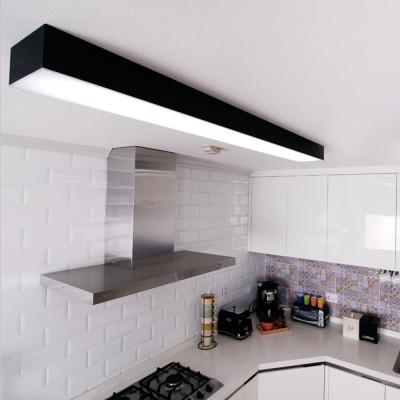 LED 크림 블랙 주방등 50w