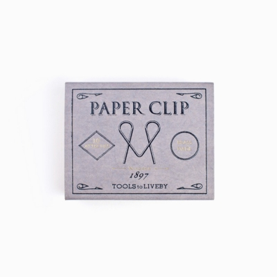 Tools to Liveby Paper Clips (Niagara)