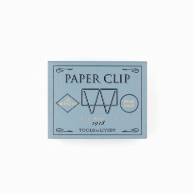 Tools to Liveby Paper Clips (Mogul)