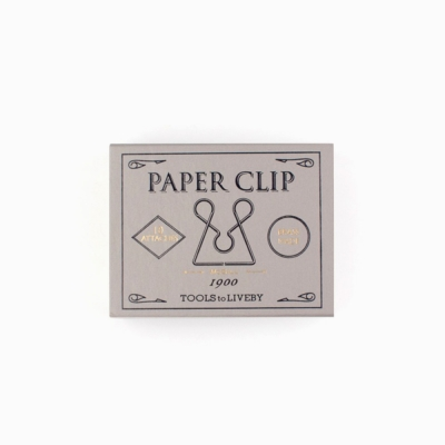 Tools to Liveby Paper Clips (McGill)