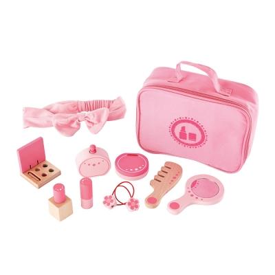 [하페]원목 화장품 가방