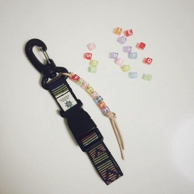 freewill. key holder strap