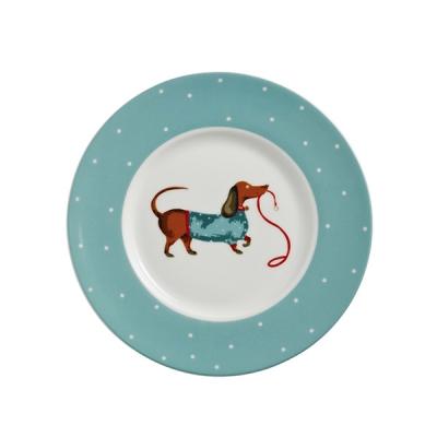 [울스터위버스] 접시(소) - Hound Dog