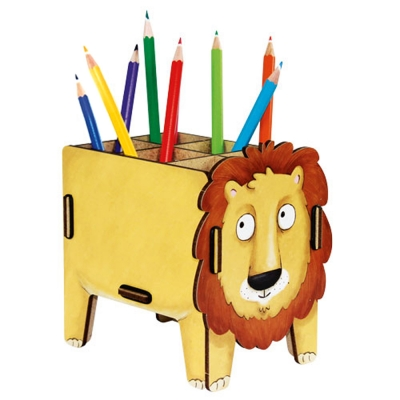 Pen Box-Lion