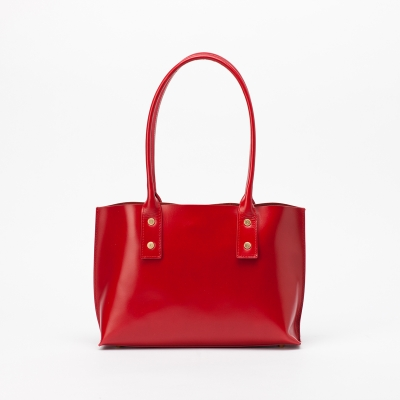 BASKET TOTE[red]