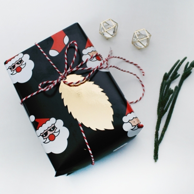 santa wraping paper 4sheet
