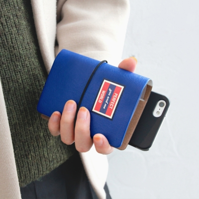 delight (Blue) 카드지갑