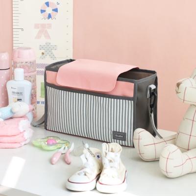 코니테일 유모차정리함 솔리드 - 핑크 (기저귀가방)