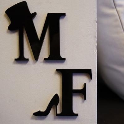 화장실표지판 Symbol