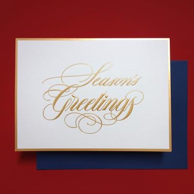 Calligraphy Greetings Card