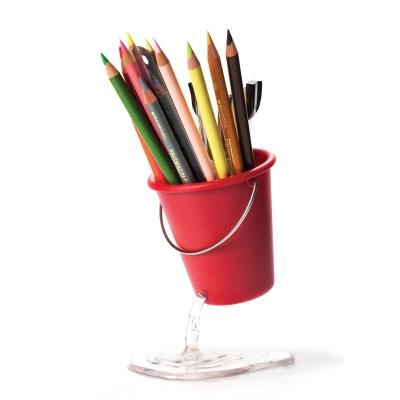 벨렉 디자인(Peleg Design) 레드 물양동이 연필꽂이/ 연필통