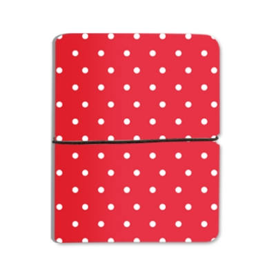 Pastel Dot - Red For Cardwallet