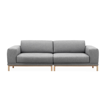 aw sofa 3seater grey
