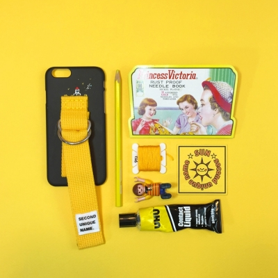 SUN CASE BLACK YELLOW (ILLUST)