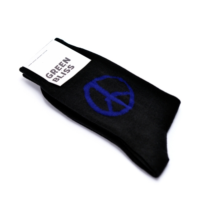 [Organic cotton] Peace Black