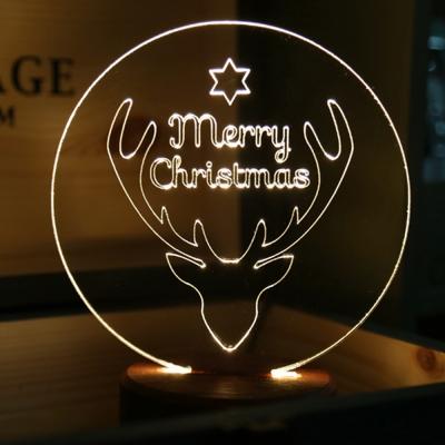 사슴 크리스마스 조명