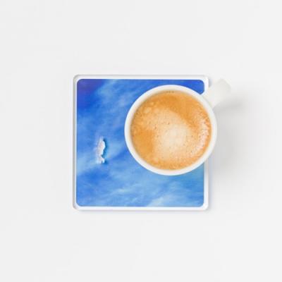 피스 오브 스카이 A Piece of Sky 컵 코스터 컵받침 리빙 데코용품