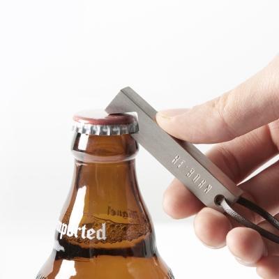 [IRON OPENER] 티타늄 보틀 오프너 실버, titanium bottle opener