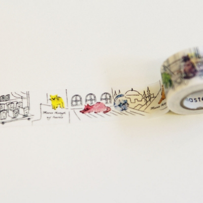 Masking tape Multi 이스탄불의 고양이들-MST-MKT150-G
