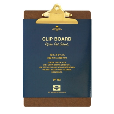 Penco Clipboard O/S Gold - A4
